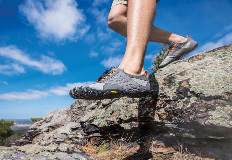 Vibram FiveFingers for hiking and trekking