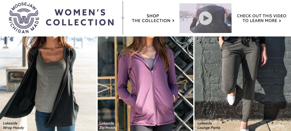 Moosejaw's New Made in Michigan Clothing for Women