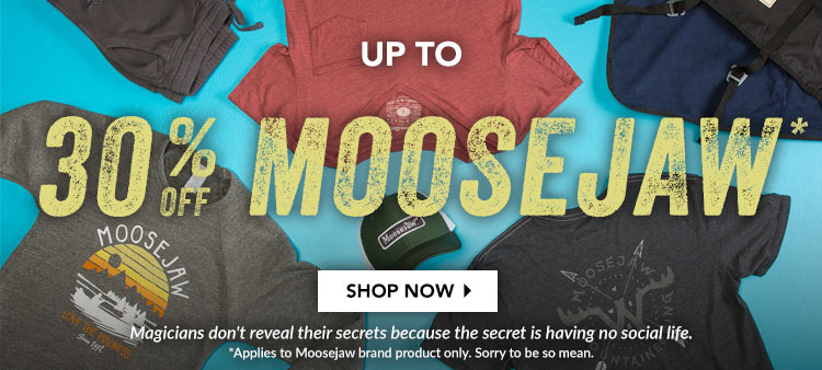 Buy One Moosejaw Tee or Hoody, and Get One Half Off