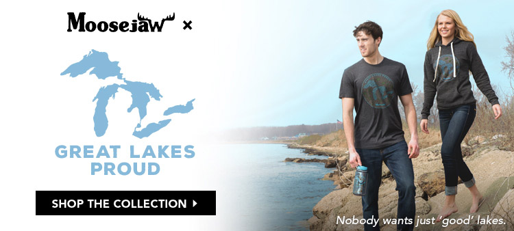 Moosejaw X Great Lakes Proud Gives Back