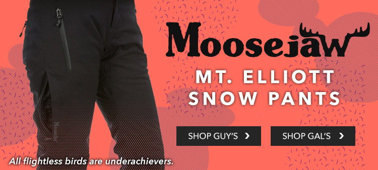 Moosejaw's Mt. Elliott Snow Pants