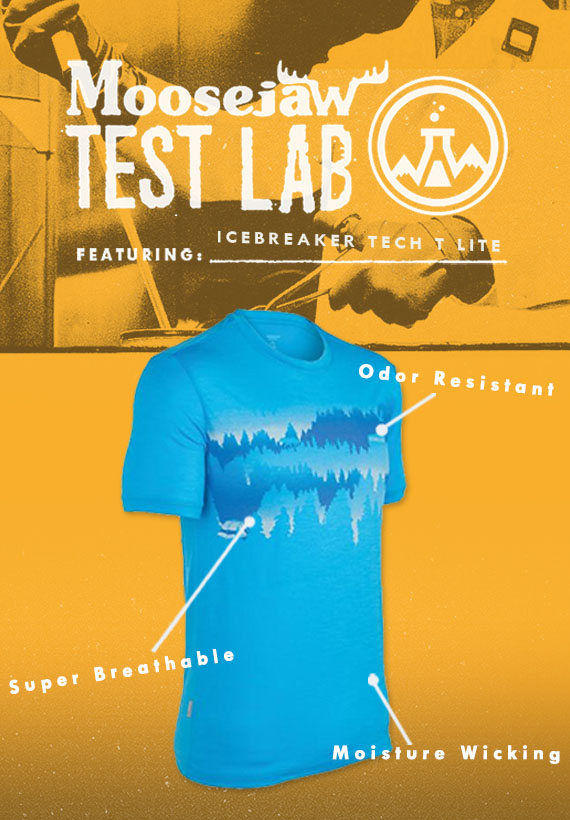 Check out the Icebreaker Tech tops