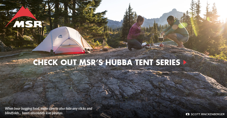Check Out MSR's Hubba Tent Series