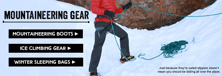 Backcountry and Mountaineering gear at Moosejaw.com