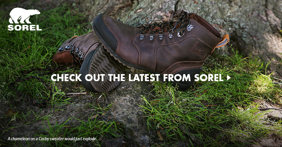 Check Out the Latest Footwear from Sorel
