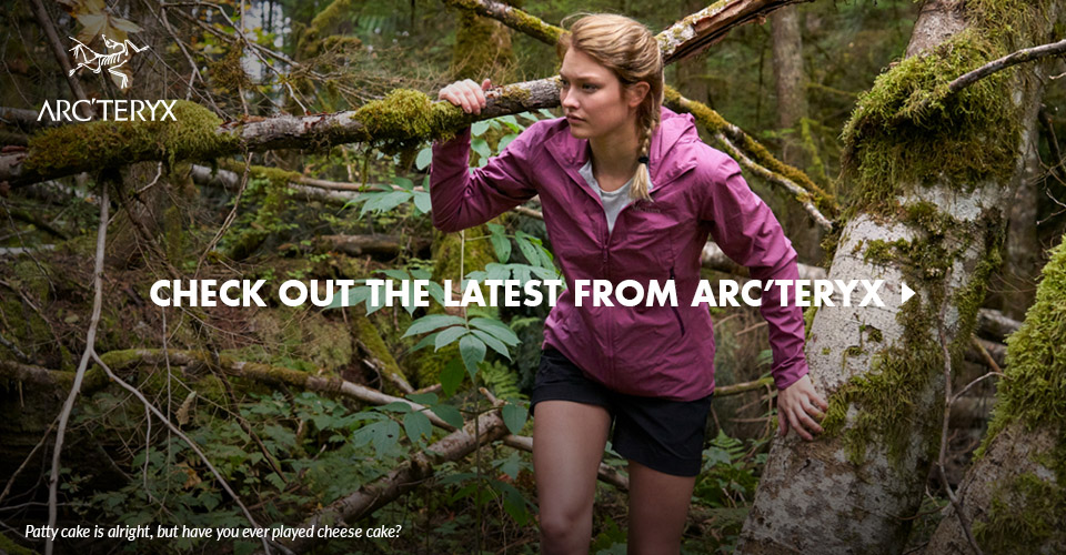 Check Out the Latest Jackets from Arc'teryx