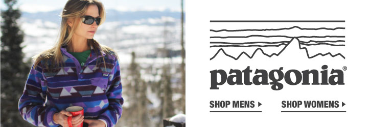 Patagonia clothing, outerwear and gear at Moosejaw