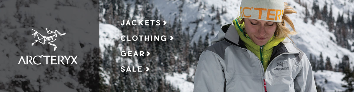 Shop Arcteryx Clothing, Outwerwear, and Gear at Moosejaw