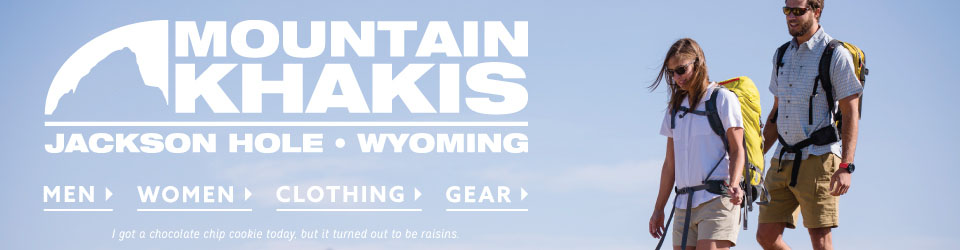 Mountain Khaki Clothing and Gear at Moosejaw.xom