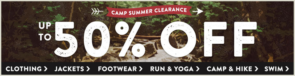 It's Summer Clearance time at Moosejaw