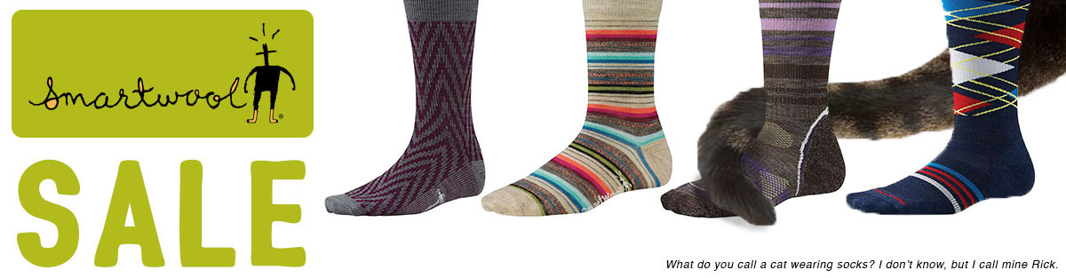 Smartwool Socks on Sale at Moosejaw
