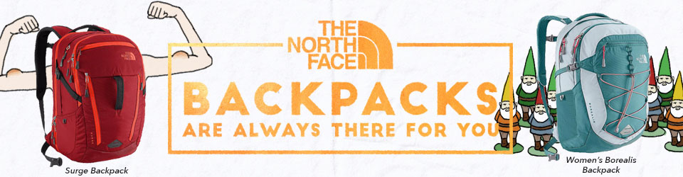 The North Face Backpacks at Moosejaw.com