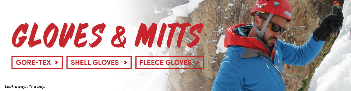 Mens Goretex, Shell, and Fleece Gloves and Mitts at Moosejaw
