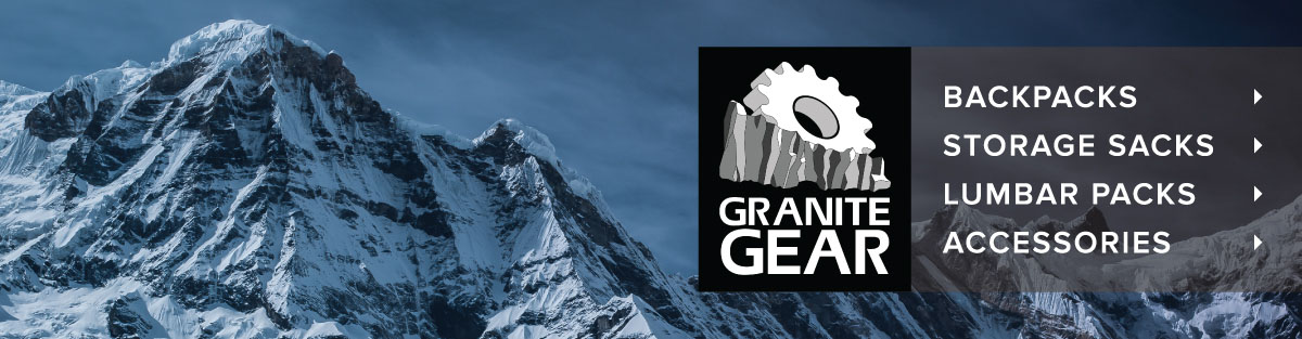 Shop Granite Gear Packs and Accessories at Moosejaw