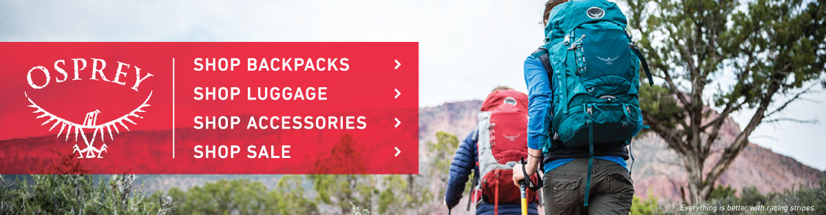 Shop Osprey Backpacks, Luggage, and Pack Accessories at Moosejaw