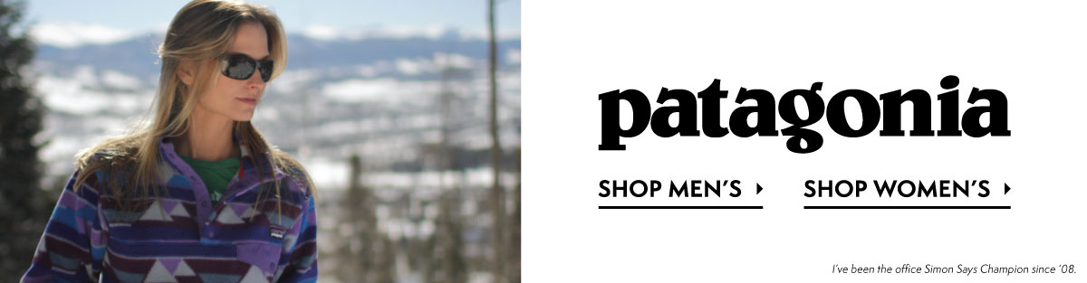 Mens and Womens Patagonia at Moosejaw