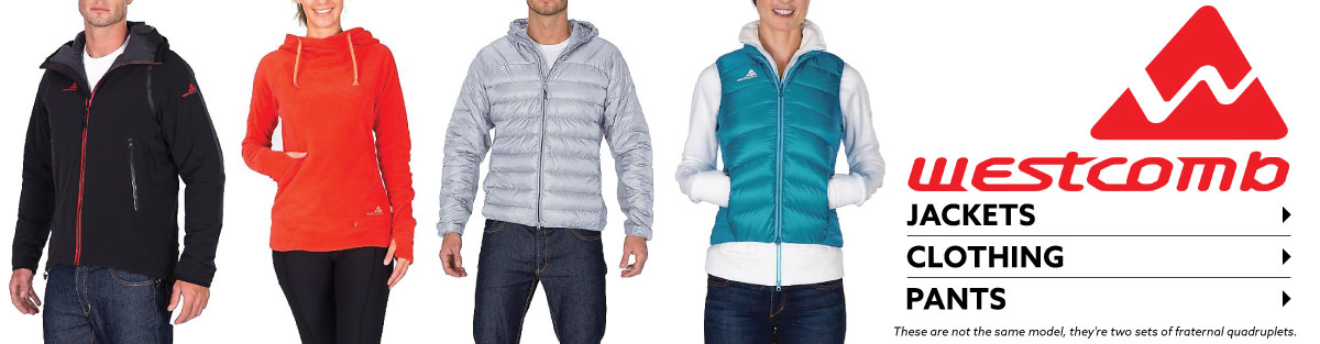 Shop Westcomb Jackets, Clothing, and Pants at Moosejaw