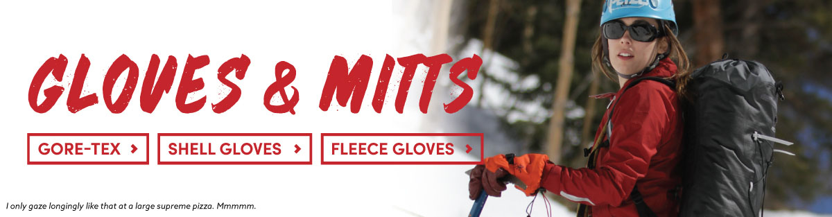 Gloves + Mitts for human hands