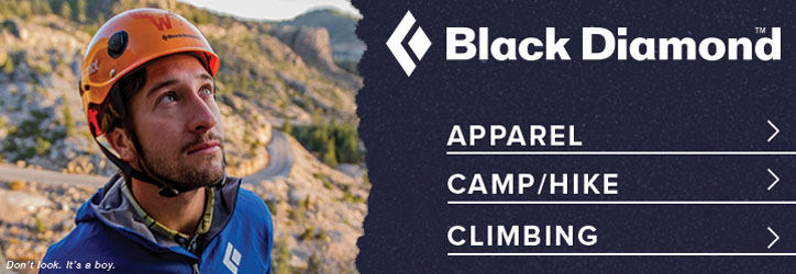 Black Diamond gear and outerwear at Moosejaw