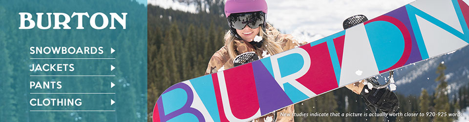 Burton Snowboard Gear and Outerwear at Moosejaw.com