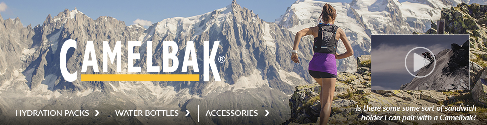 Camelbak Hydration Pack and accessories