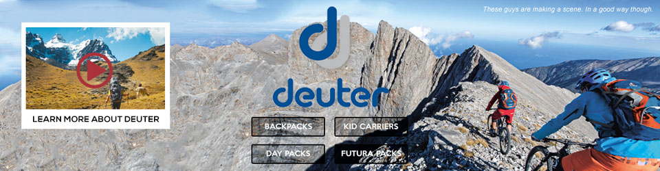 Deuter backpacks, kid carriers and gear at Moosejaw