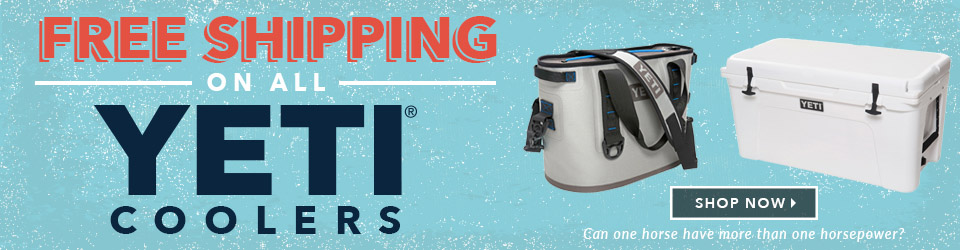 Free Shipping on all YETI Coolers at Moosejaw.com