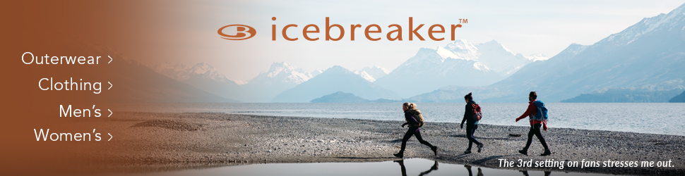 Icebreaker clothing and outerwear at Moosejaw