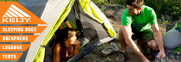 Kelty hiking and camping gear at Moosejaw
