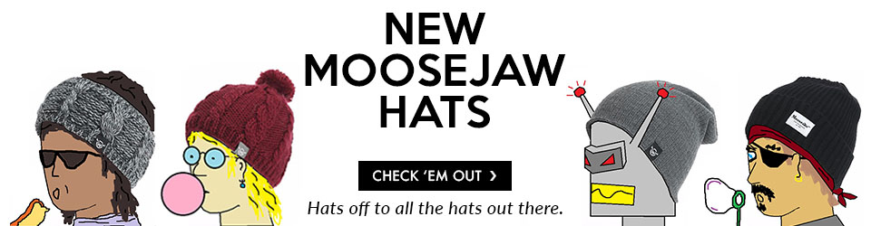 Moosejaw Hats. Hats Off to All the Hats Out There.