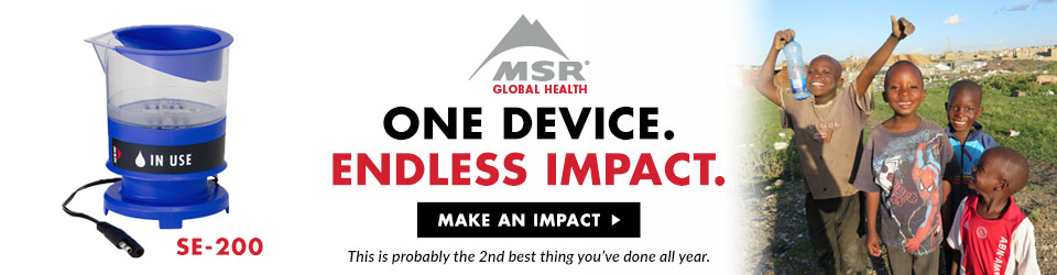 MSR Global Health Campaign. One Device. Endless Impact.