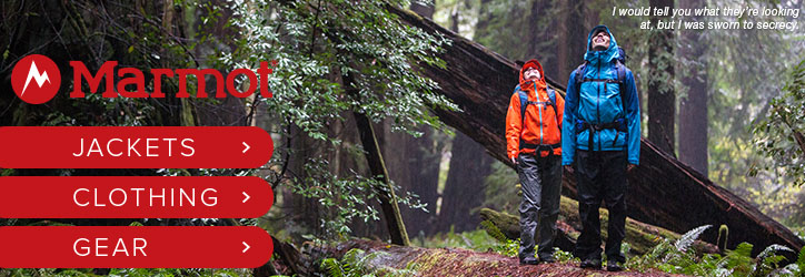 Marmot jackets, clothing and gear at Moosejaw