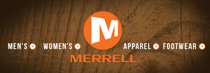 Merrell Footwear and Clothing at Moosejaw