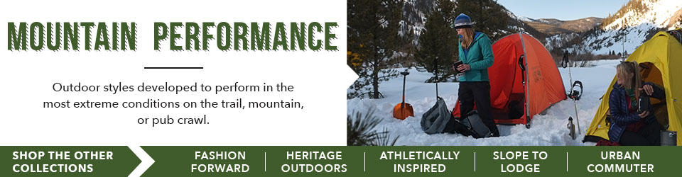 Shop the Mountain Performance Collection at Moosejaw