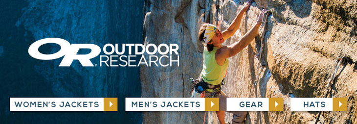 Outdoor Research clothing, outerwear and gear at Moosejaw