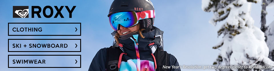 Roxy clothing, swimwear and snowboarding gear at Moosejaw