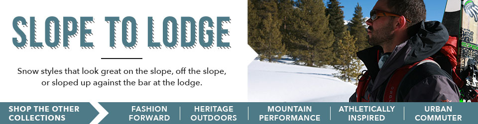 Shop the Slope to Lodge Collection at Moosejaw