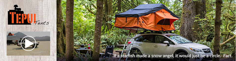Tepui Roof Top Tents for Cars and Trucks