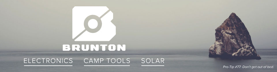 Shop Brunton Camp Electronics, Tools, and Solar at Moosejaw