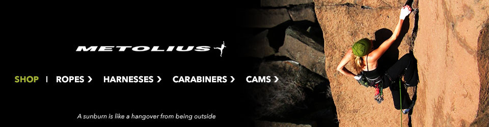 Shop Metolius Climbing Gear at Moosejaw
