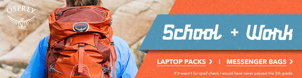 Shop Osprey Laptop and Messenger Pags at Moosejaw