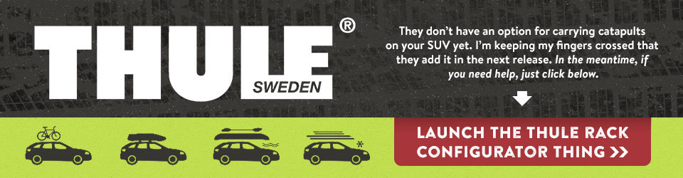 Launch the Thule Rack Configurator Thingy