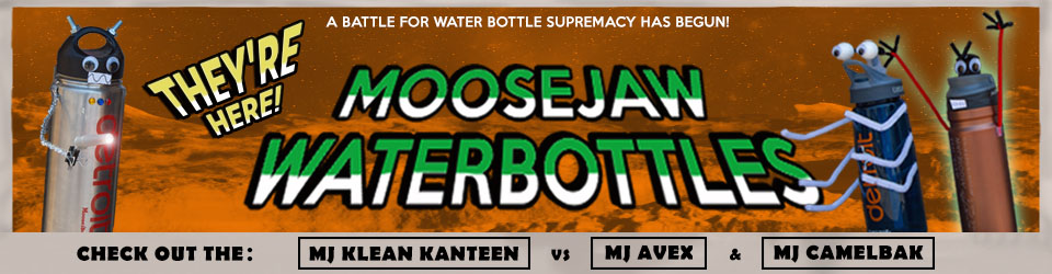 Moosejaw Water Bottles are Here!