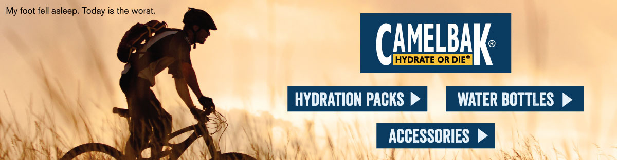 Shop Camelbak Hydration Packs, Water Bottles, and Accessories at Moosejaw