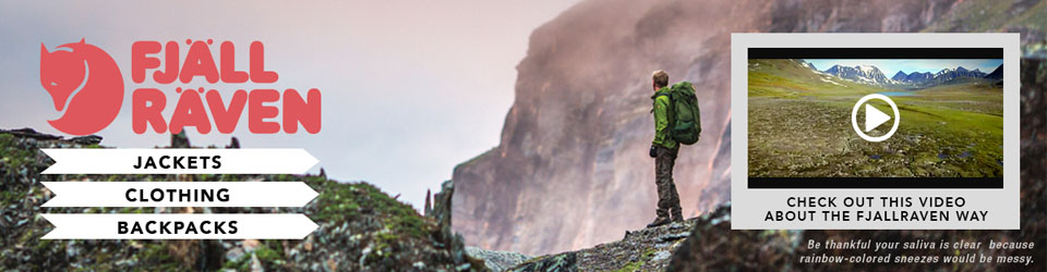 Fjallraven outerwear, clothing and gear at Moosejaw.com
