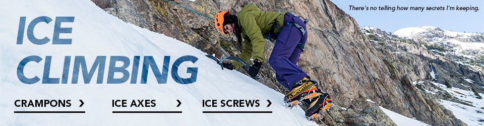 Ice Climbing Gear at Moosejaw.com