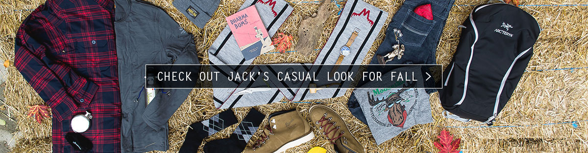 Check out Jack's Casual Outfit for this Fall