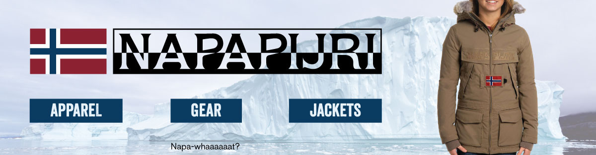 Napapijri Clothing, Jackets, and Gear at Moosejaw