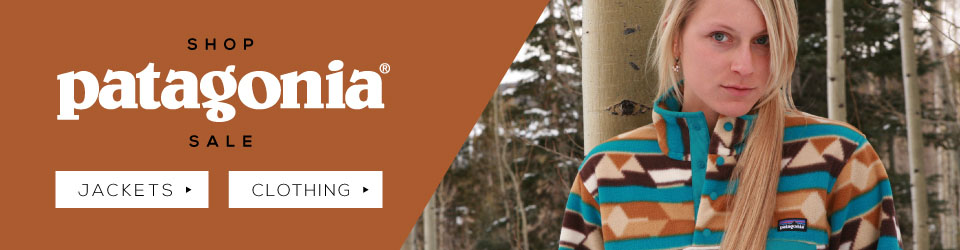 Patagonia jackets, clothing and gear on sale at Moosejaw