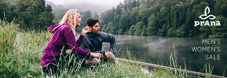 prAna clothing, outerwear and gear at Moosejaw